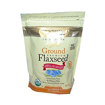 Organic Ground Flaxseed Meal - one of my favorite sources of Omega-3 fatty acids