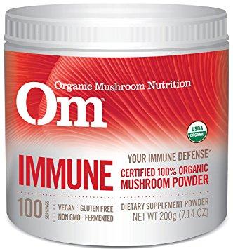 Organic Mushroom Supplement - organic mushroom powder that I take when I need to boost my immune system