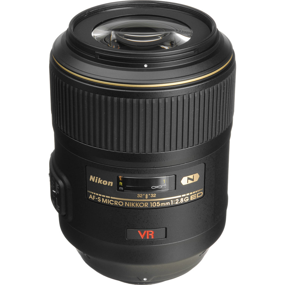 Nikon AF-S FX VR Micro (Macro) 105mm f/2.8G Lens - the lens I use for