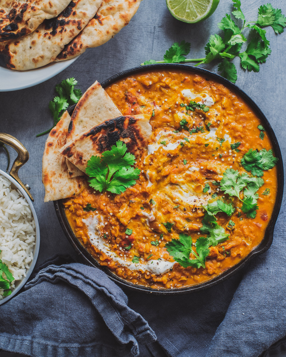 Red Lentil Almond Curry - V, GF