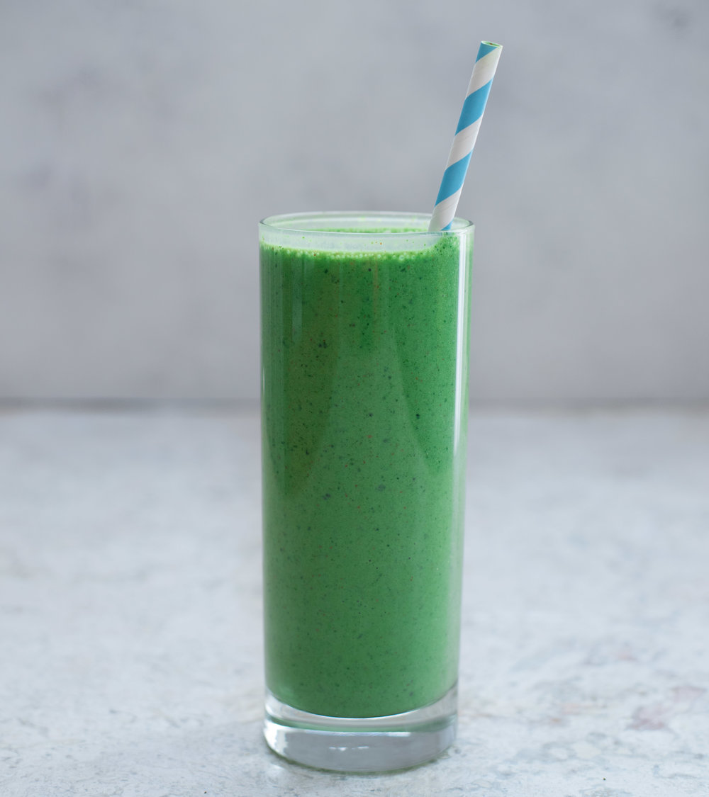 Mean Green Protein Smoothie - V, GF
