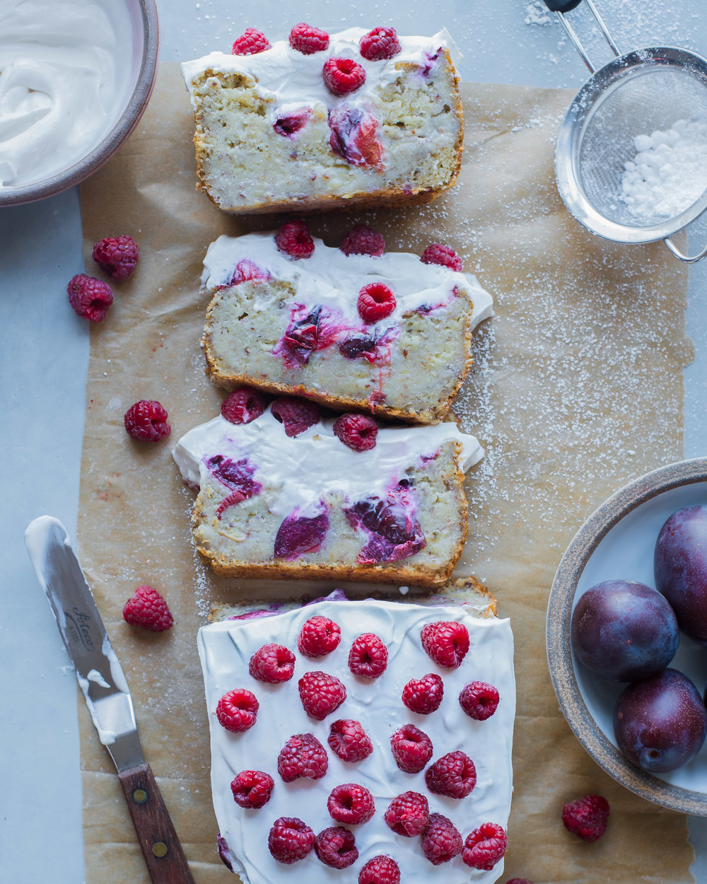 Banana Plum Bread (Vegan)