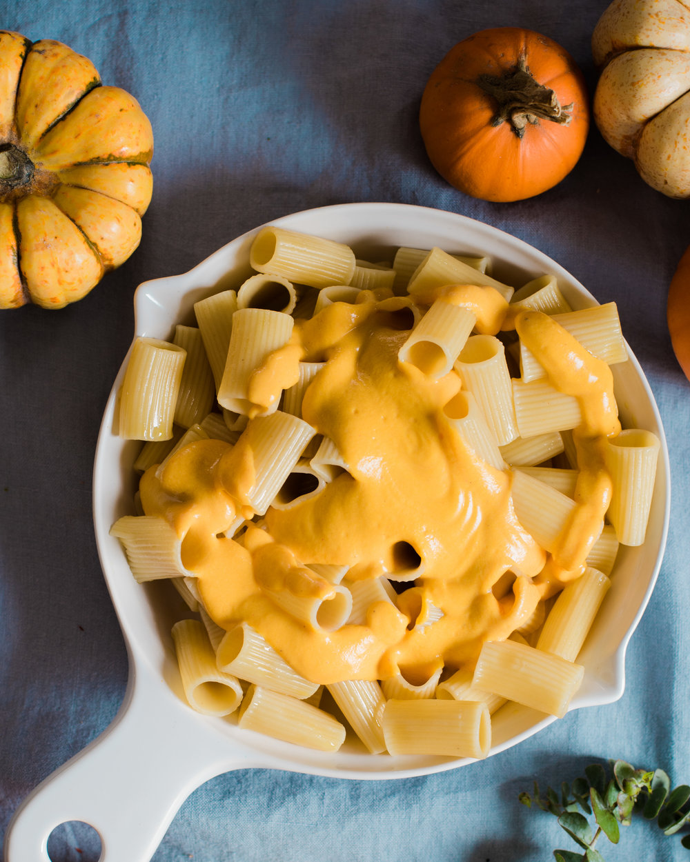 Creamy Vegan Pumpkin Mac and Cheese