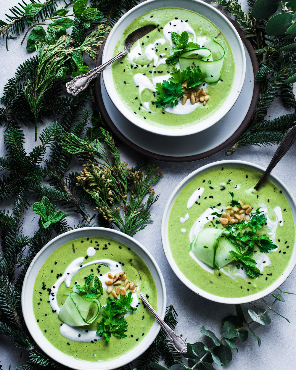 Vegan Green Goddess Soup