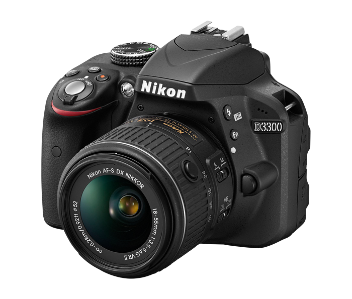 Nikon D3300 camera - the first DSLR camera I bought and used for food photography