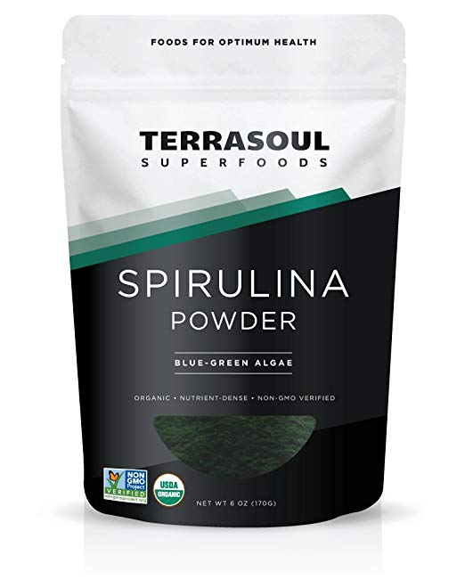 Spirulina Powder - most protein-packed food in the world and it makes a damn beautiful smoothie bowl
