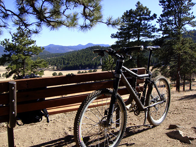 Mountain Biking Elk Meadow