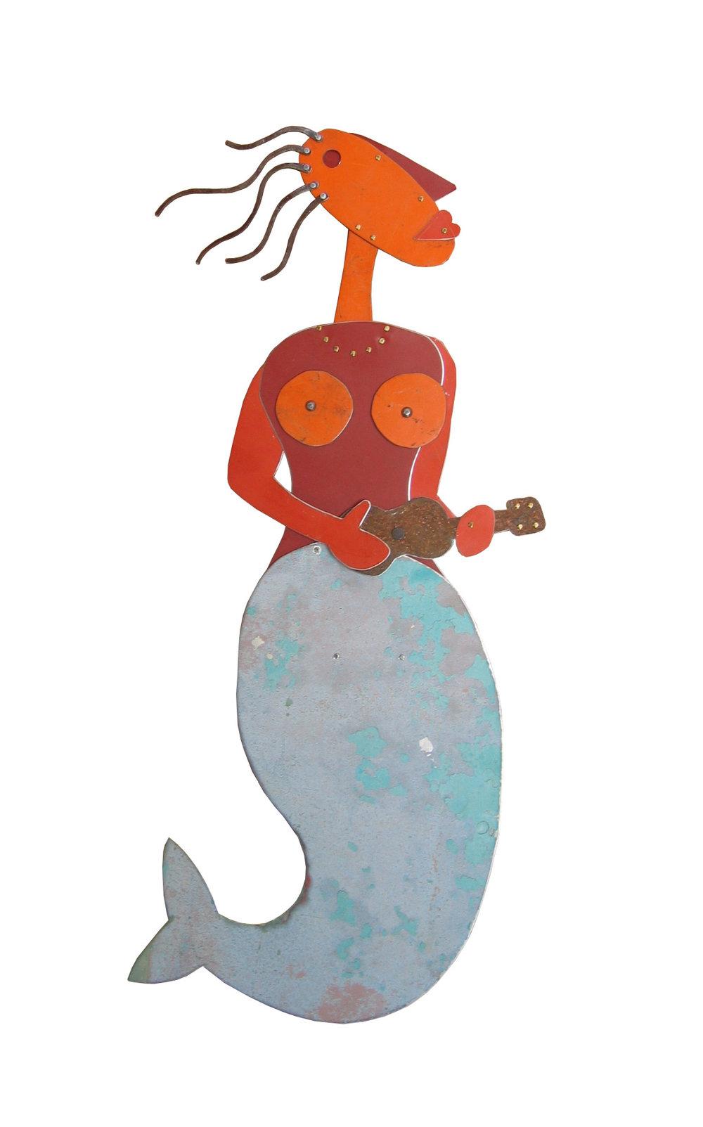 Ukelele Mermaid