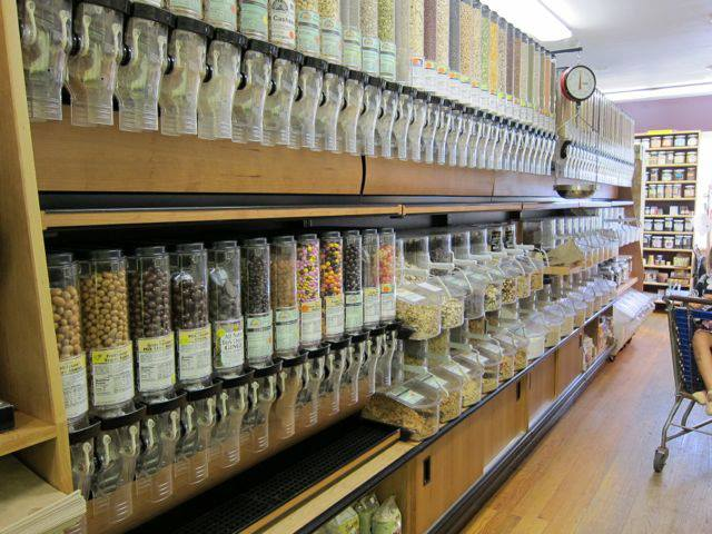 Take as much or as little as you want from our bulk department. Less packaging and more savings!
