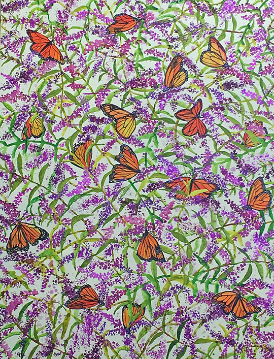 Monarch-Feast_Acrylic_30x40_2016_300dpi.jpg