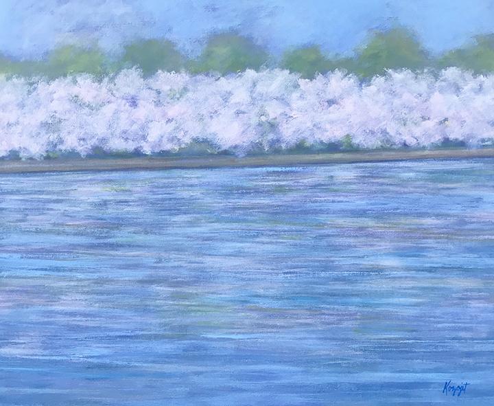 Pastel on the Potomac