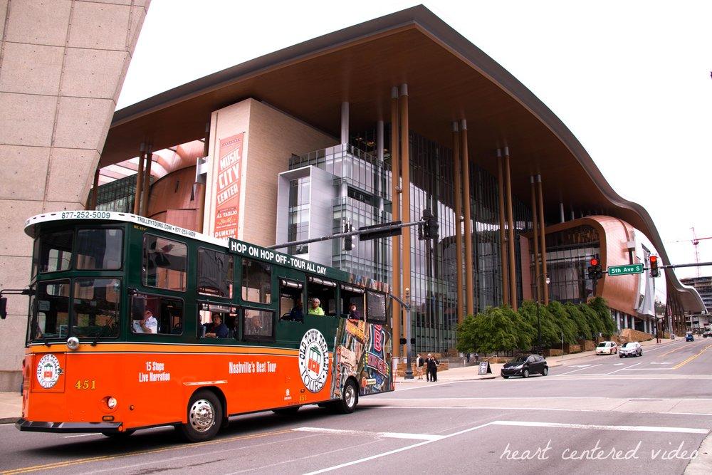 nashville city music center trolley tours
