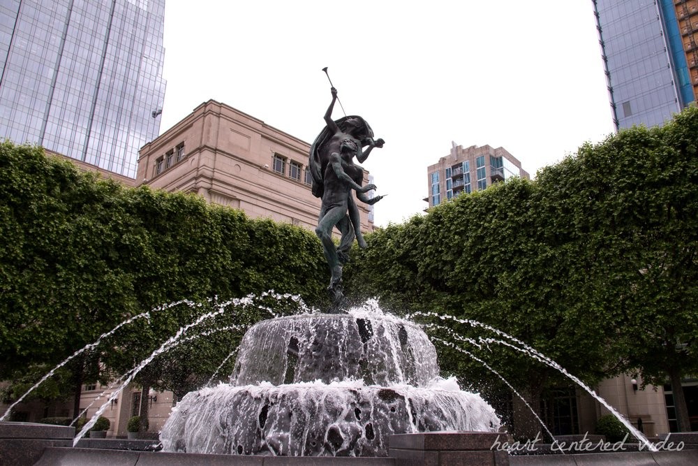 fountain in nashville