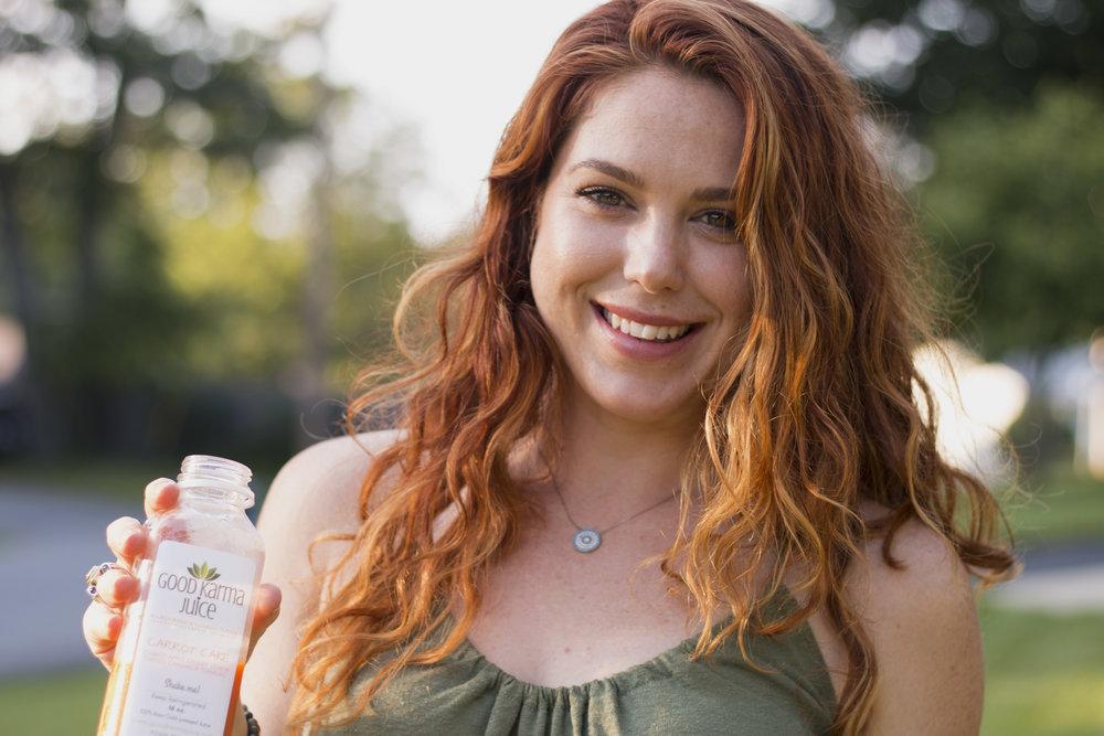 Amanda Good Karma Juice