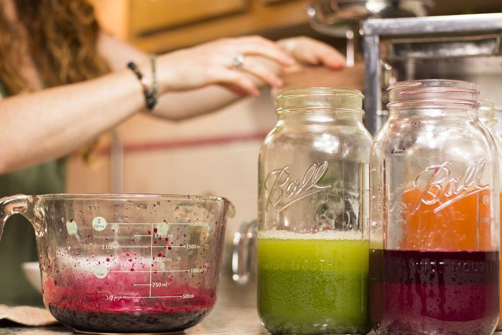 good karma juice jars
