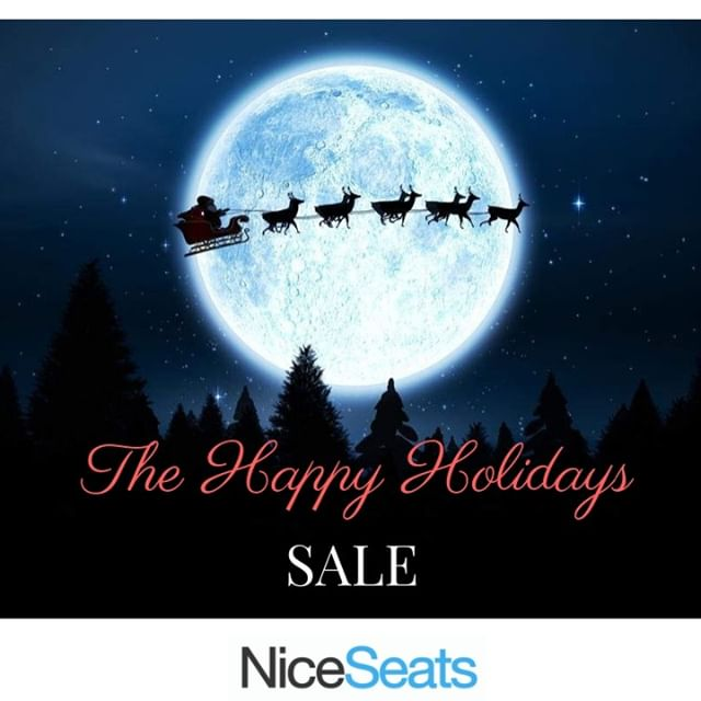 Just in the nick of time for holiday trips home, or the gift you know that absolutely no one else will have. So unless you're riding with Santa,  you may want to fly with us. 💺 . . #holiday #holidaysale #Santa #reindeer #upinthesky #airtravel #abovetheclouds #niceseats