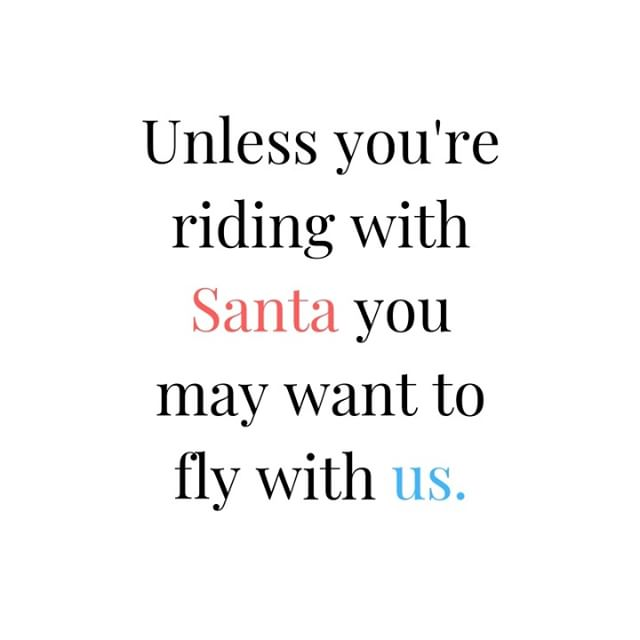 Going home for the holiday? There's still time to make things a lot nicer on your journey. ⠀⠀⠀⠀⠀⠀⠀⠀⠀ .⠀⠀⠀⠀⠀⠀⠀⠀⠀ .⠀⠀⠀⠀⠀⠀⠀⠀⠀ .⠀⠀⠀⠀⠀⠀⠀⠀⠀ #justsayin #holiday #holidaysale #Santa #reindeer #upinthesky #airtravel #abovetheclouds #niceseats