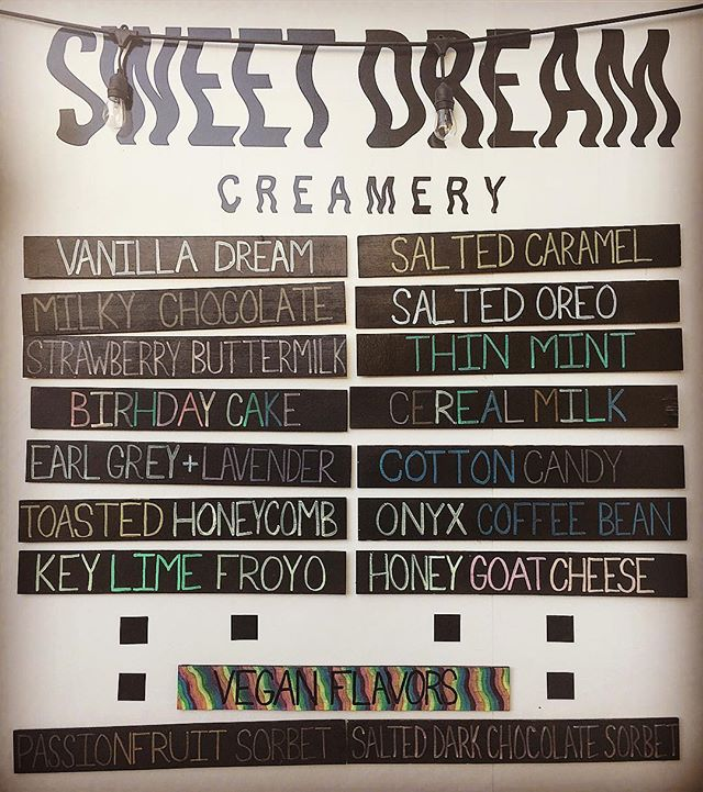 We have reached the last days of the Summer Menu!! Come out this weekend to get your final scoops of Lemonberry Froyo, Key Lime Froyo, Honey Goat Cheese, and Strawberry Buttermilk. (Pro Tip: Buy pints of your favorite flavor and squirrel it away in your freezer for a mid-hibernation snack.) 🍦❤️🙏🐿