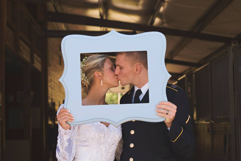 Military Wedding Couple Cute