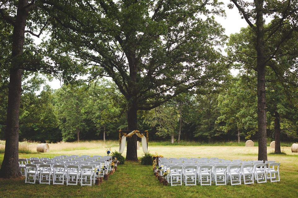 Arkansas Outdoor Wedding Venue
