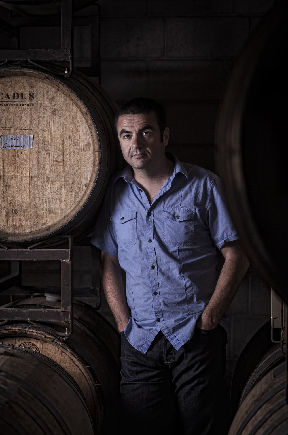 Founder and winemaker Ben Parsons