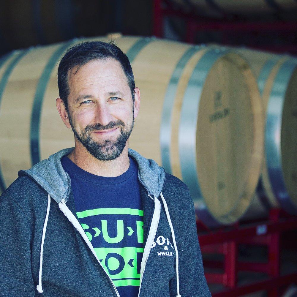 Winemaker Trey Busch is a big Pearl Jam Fan
