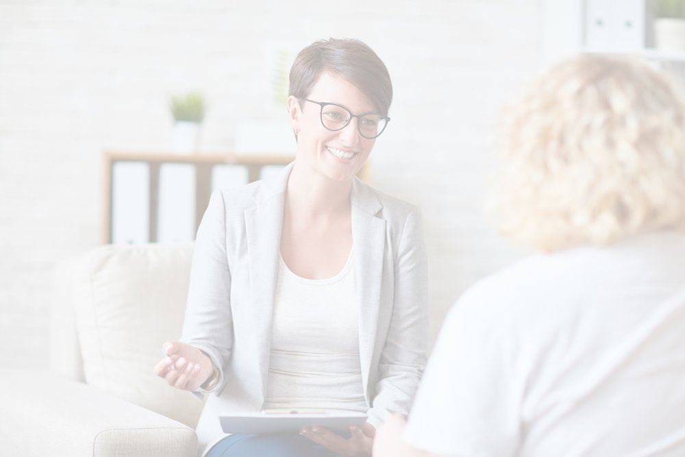Need a therapist? - We'll help you find the right one. Get started with three simple steps.