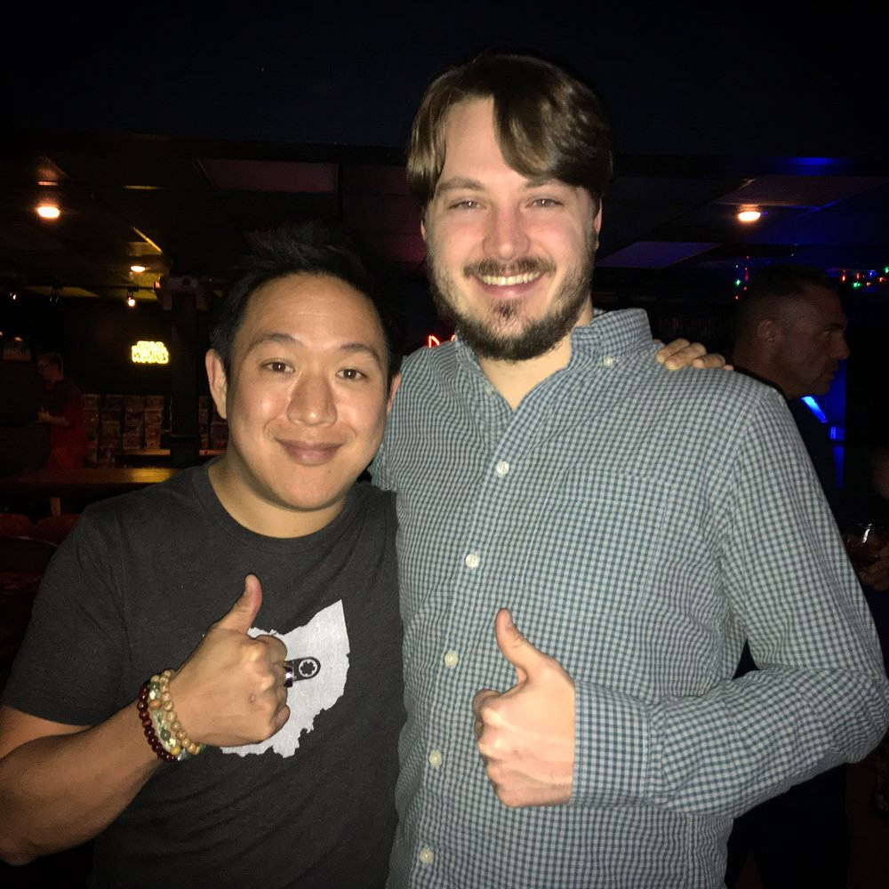 Ming Chen - Comic Book Men on AMC Neil's Bar - Houston, TX                                   January 4, 2017