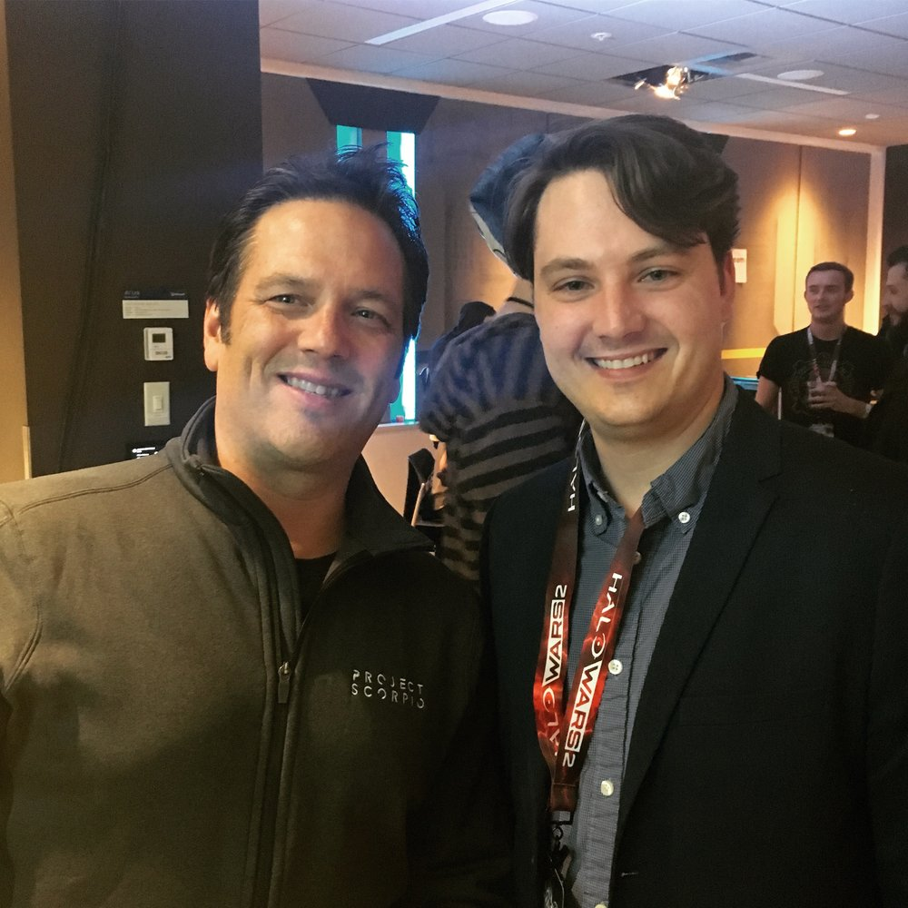 Phil Spencer - Head of Xbox, Microsoft Halo Wars 2 Launch Party - Redmond, WA     February 16, 2017