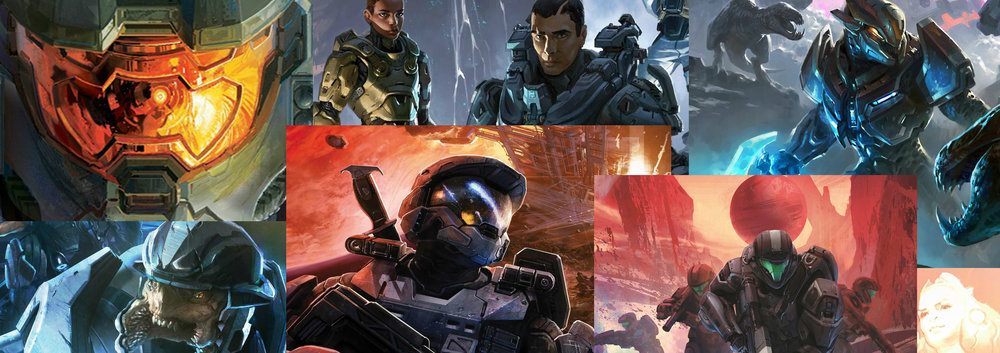 HALO BOOK CLUB - Hosts Oran, David, Krysta, and Aaron guide you through the Halo universe, summarizing the Halo novels, comics, and movies, and discussing their favorite and least favorite parts of every piece of Halo media.