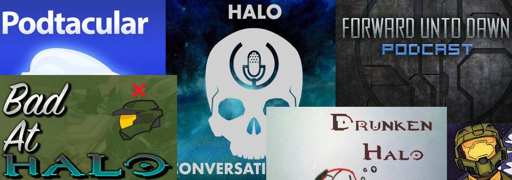 HALO PODCAST NETWORK - We at Podcast Evolved like to think of ourselves as the best Halo podcast, but that in no way means we are the only Halo podcast. Click on the links below to check out some other fantastic Halo podcasts. We know there is always room to subscribe to just one more podcast.