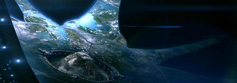 THE LESSER ARK - HOST STAR: NoneSTATUS: Damaged (Battle of Installation 00, 2552)