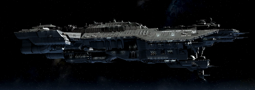 SPIRIT OF FIRE - TYPE: Phoenix-class support vesselCOMMISSION DATE: 2473 (military refit 2520)