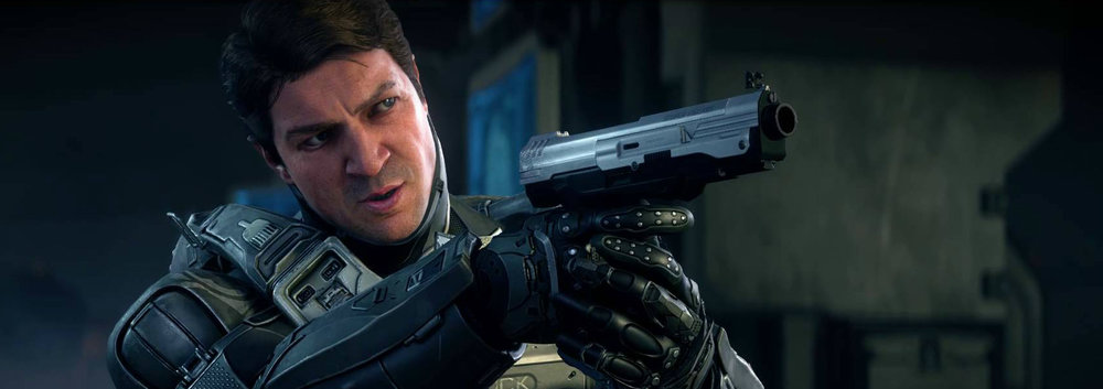 EDWARD BUCK - A marine, ODST, and Spartan-IV, Edward Buck has nearly thirty years of service to the UNSC and has been involved in some of the most important battles of the Human-Covenant War and post-war period.