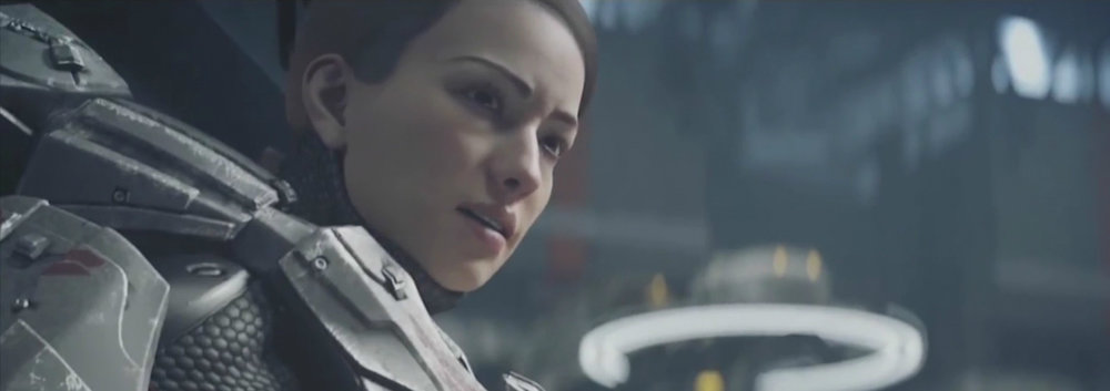 SARAH PALMER - Formerly a member of the ODSTs, Sarah Palmer was one of the first chosen for the first class of Spartan-IV candidates, rising to commander of all Spartans aboard the UNSC Infinity.