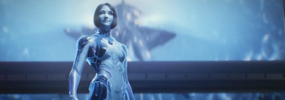 CORTANA - Originally a smart AI made from a clone of Dr. Halsey's brain and supporting John-117 in the ending battles of the Human-Covenant War, Cortana is now possibly the most dangerous threat to the UNSC and humanity.