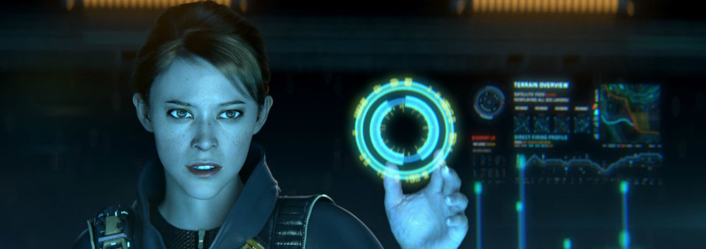 ELLEN ANDERS - Ellen Anders is a scientist working with the UNSC on-board the Spirit of Fire, assisting in the discovery and recovery of Forerunner technology.
