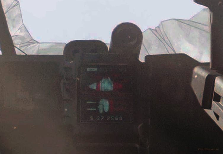 An enhanced image from the Pelican cockpit in the Halo Infinite trailer. Image courtesy of VitalNonsense on ResetEra.