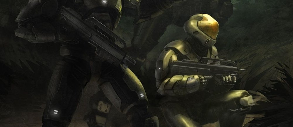 SPARTAN-III BETA COMPANY TRAINING - Lucy-B091, shown in her Semi-Powered Infiltration (SPI) armor during the Onyx Conflict, 2552.