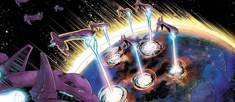 GLASSING OF MINAB - The Covenant fleet glassing Minab, 2550.