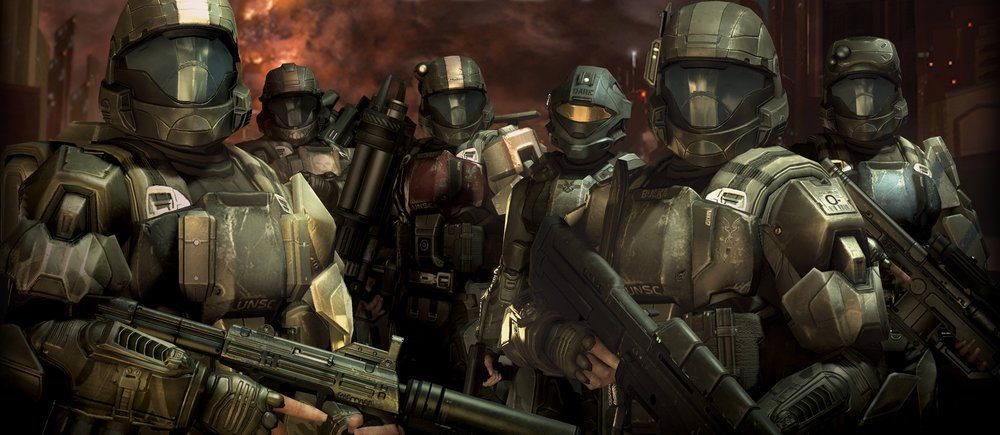 DRACO III REBELLION - ODST squad Alpha-Nine, shown here during the Battle for Earth in 2552, led the assault on Draco III to try and stop the United Rebel Front rebellion.