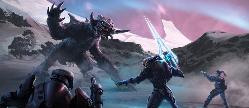 OPERATION: FAR STORM - The forces of Operation: FAR STORM face off against a chaefka on Installation 00, sent by the Ark's monitor 000 Tragic Solitude to try and stop them, March 2555.