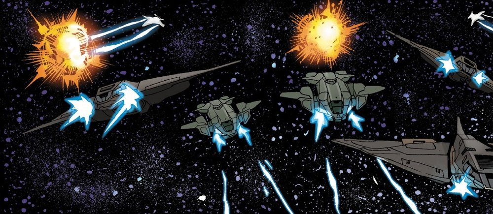 OPERATION: WHISTLE STOP - UNSC rescue convoy forces assisting the UNSC Infinity over Ven-III, May 2558.