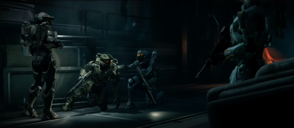 OPERATION: BIRD IN HAND - Blue Team on Argent Moon, after John-117 was contacted by Cortana, October 23rd, 2558.