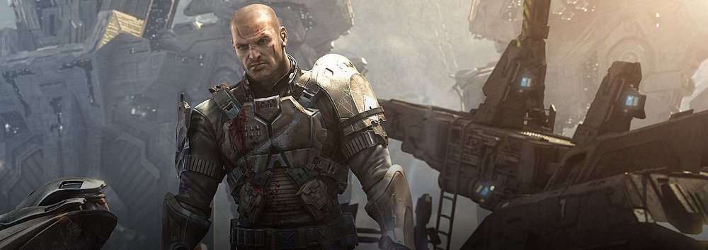 JOHN FORGE - Forge was a Marine who served on the UNSC Spirit of Fire, giving his life to save the ship and destroy the Etran Harborage.