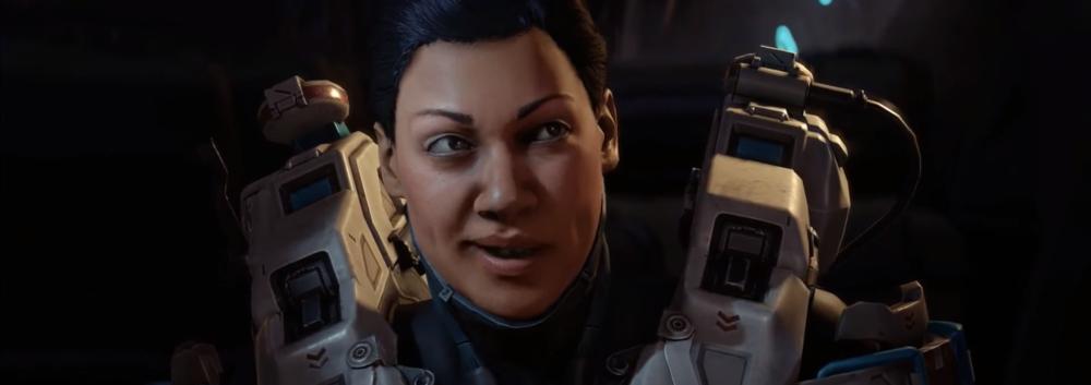 HOLLY TANAKA - Holly Tanaka is a Spartan-IV super-soldier and member of Fireteam Osiris under Jameson Locke.