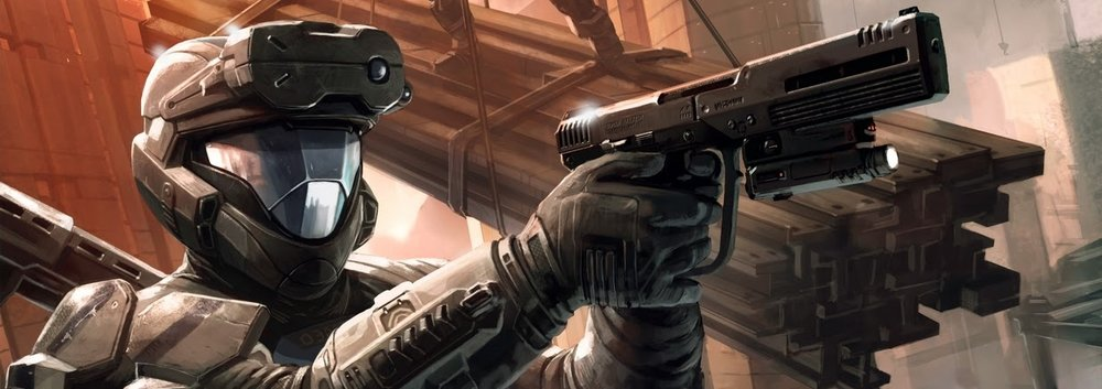 KOJO AGU - Better known as Romeo, Agu has served in Alpha-Nine under Edward Buck as both an ODST and Spartan-IV for nearly a decade.