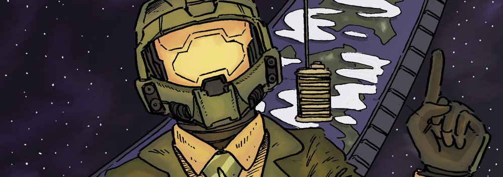 PODCAST EVOLVED - Join us every week as we discuss Halo's lore, the latest news, Halo Book Club, and Mission Debrief.