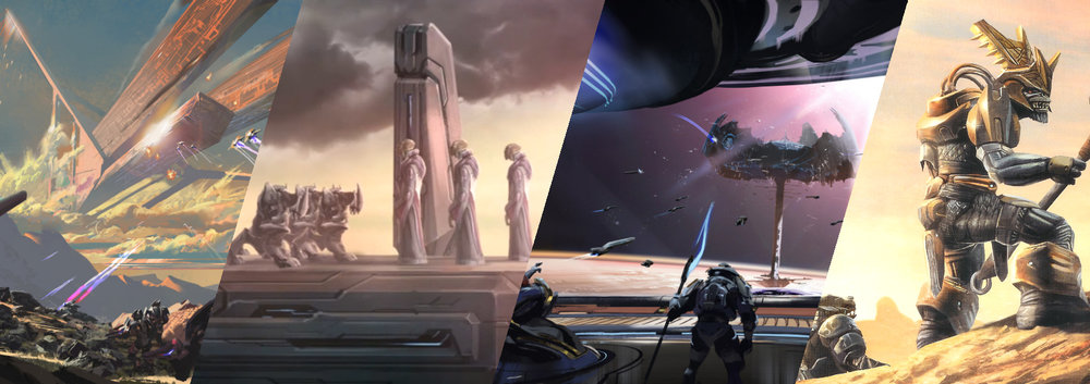 COVENANT FORMATION - The early years of the Covenant saw the addition of several species and the continual consolidation of power within the ranks of the San'Shyuum.
