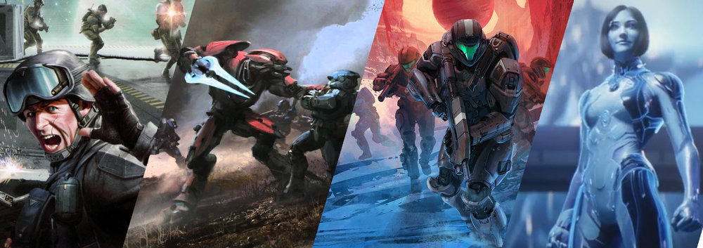 TIME PERIODS - The Halo universe can br broken up into several distinct periods, including the Froerunner Era, Formation of the Covenant, and Human-Covenant War.